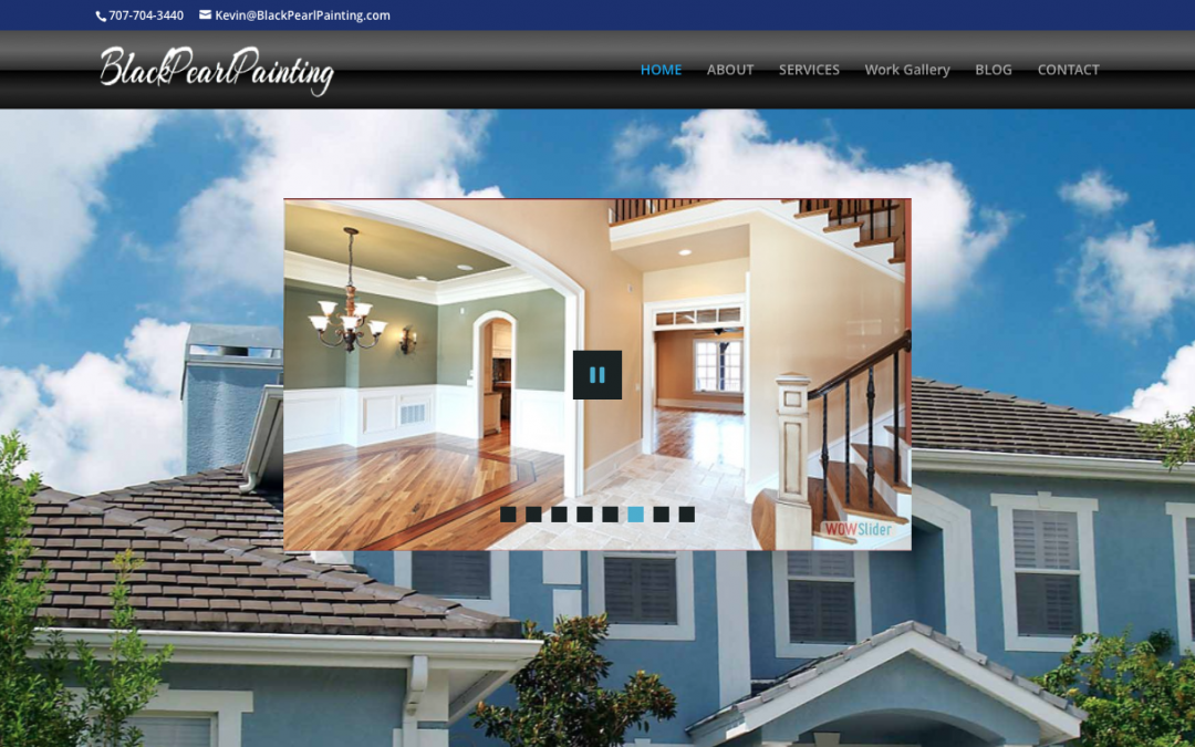A Painting Company Website – Case Study