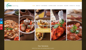 Catering Business Website